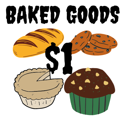 Baked Good - $1