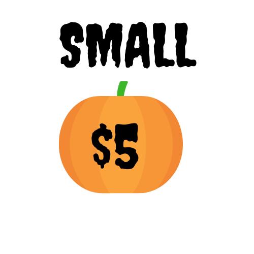 Small Pumpkin - $5